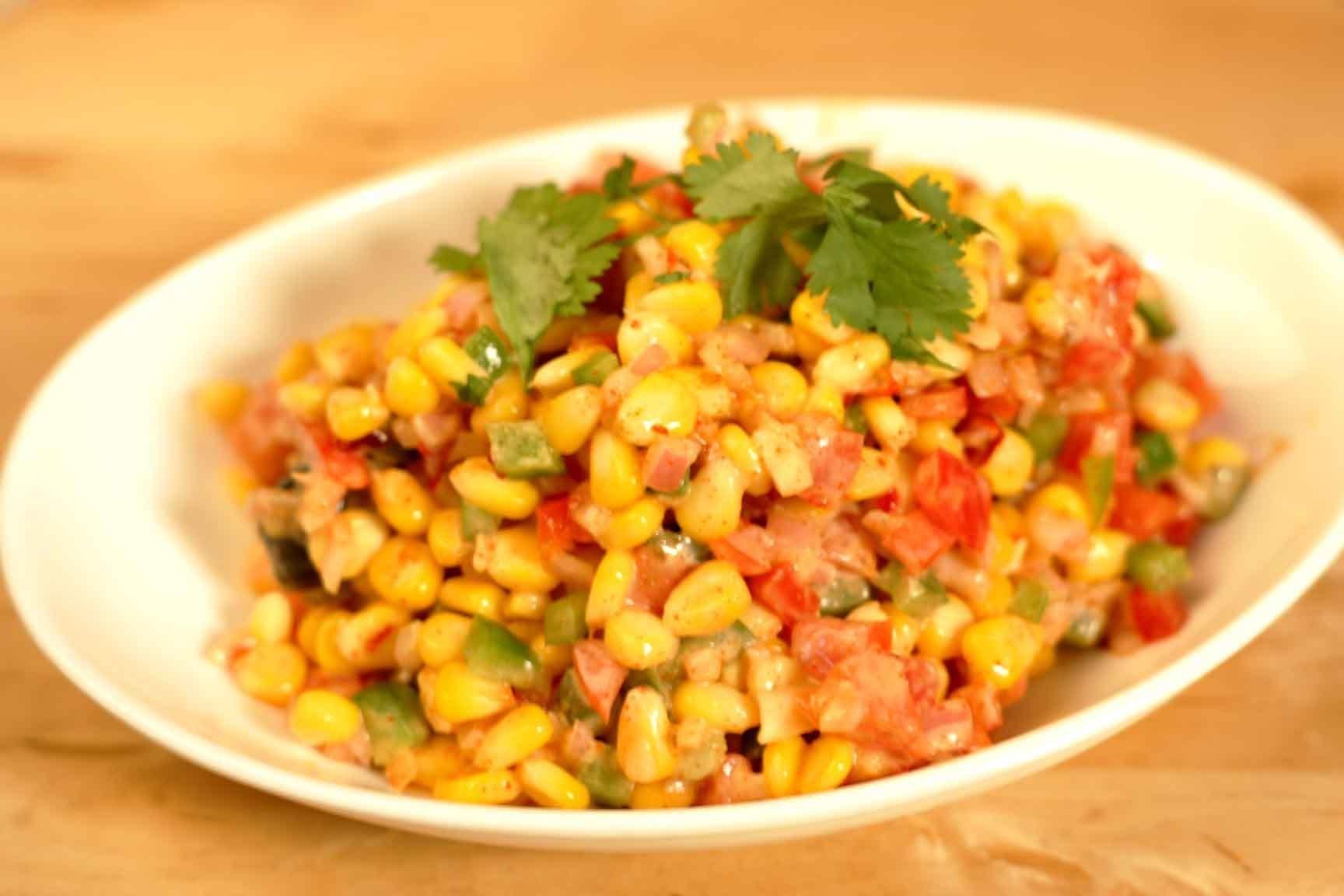 Diet Recipe For Corn Bhel